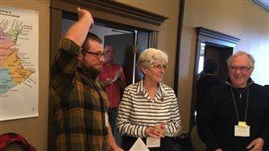 Kevin Arseneau a été élu à la présidence de la Société de l'Acadie Nouveau-Brunswick