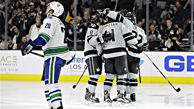 Les Canucks ont subi une 1re défaite