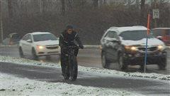 La première neige cause des collisions mineures
