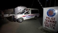L'attaque d'une école de police fait au moins 59morts au Pakistan