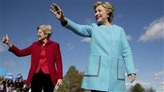 Clinton pense au Congrès, Trump prédit un nouveau Brexit