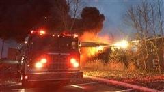 Incendie sur la rue Hertel:les résidents évacués pourront réintégrer leur logement dans quelques jours