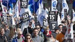 Une rencontre satisfaisante pour la coalition prônant un salaire minimum à 15$ l'heure