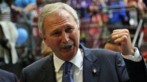 L'ancien ministre des Finances Blaine Higgs est devenu chef du Parti progressiste-conservateur samedi.