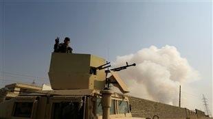 Les soldats irakiens livrent un combat sans merci contre les forces djihadistes qui occupent plusieurs localité du pays dont Mossoul