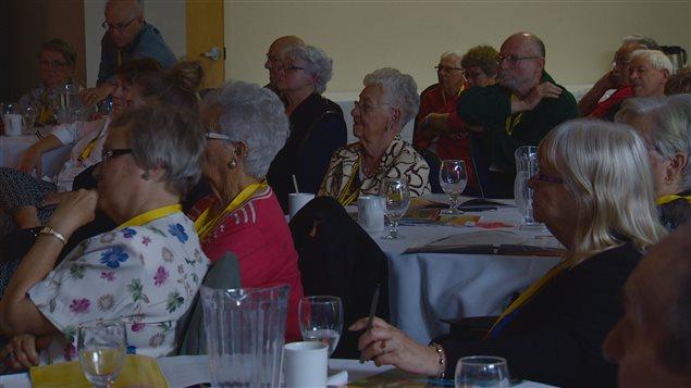 Plus de 80 aînés ont participé aux conférences offert par la Fédération des aînés franco-albertains.
