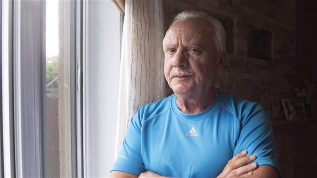 Michele Torre en septembre dernier dans sa maison de Laval