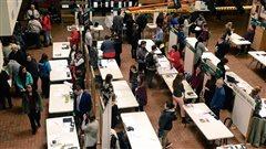 Rencontre entre étudiants et professionnels au Cégep de Sept-Îles