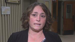 La présidente du Syndicat des enseignants de la Nouvelle-Écosse, Liette Doucet