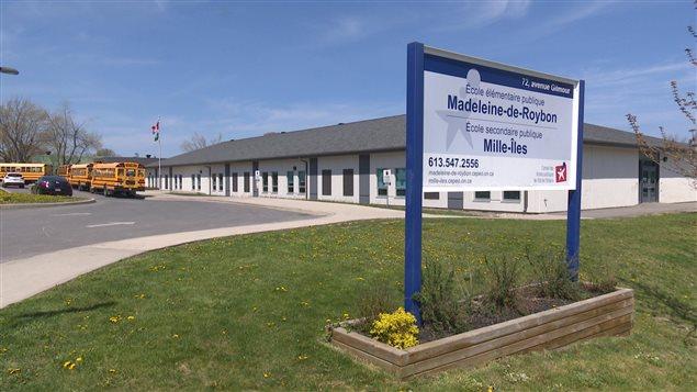 L'édifice qui abrite les écoles publiques francophones de Kingston.