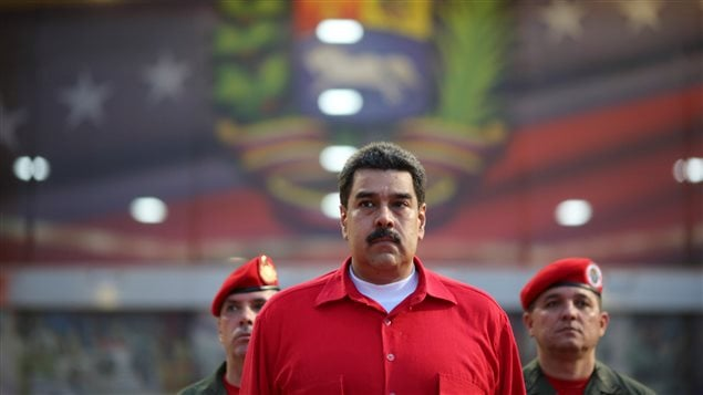 Le président du Venezuela Nicolas Maduro