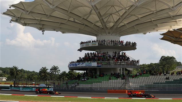 Le circuit de Sepang, à Kuala Lumpur en Malaisie