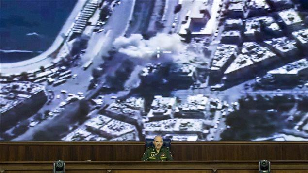 Le lieutenant russe Sergei Rudskoi affirme que les corridors humanitaires à Alep sont ouverts.