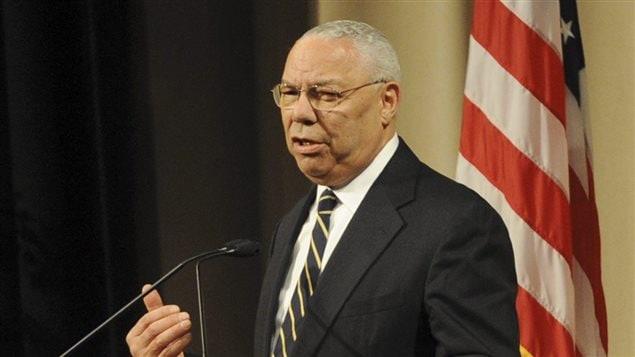 L'ex-secrétaire d'État républicain Colin Powell sous la présidence de George W. Bush.