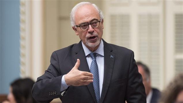 Carlos Leitao à l'Assemblée nationale.