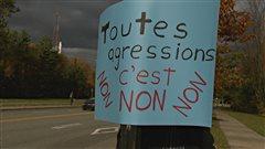 Manifestation à Sherbrooke pour dénoncer la culture du viol