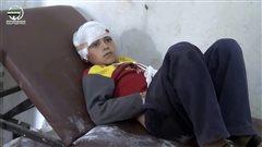 En Syrie, des frappes aériennes font au moins 17 morts, surtout des enfants