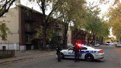 Un suspect atteint par balle à Montréal-Nord