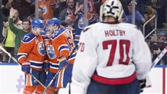 Les Oilers passent le test et l'emportent 4-1 sur les Capitals