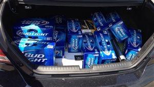 Une vieille loi limite la quantité d'alcool qu'il est permis de rapporter d'une autre province au N.-B.