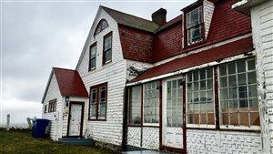 L'Université Laval  veut redonner vie à la Villa Frederick James de Percé.