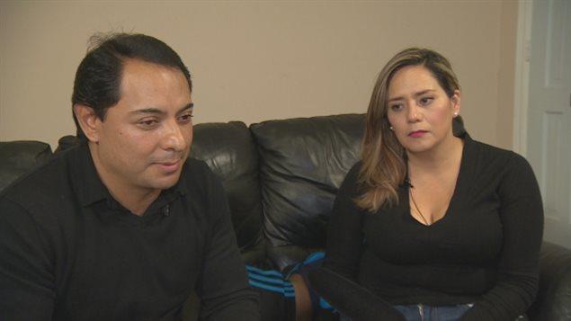 Israel Ochoa et Nora Trueba ont eu trois enfants au Canada.