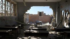 Indignation internationale après le bombardement d'une école en Syrie