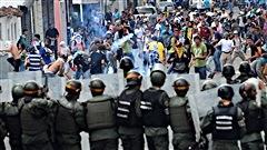 Des dizaines de blessés dans des manifestations au Venezuela