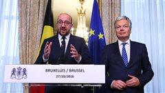 Entente en Belgique sur l'accord de libre-échange UE-Canada