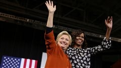 Allez voter, clament Michelle Obama et Hillary Clinton