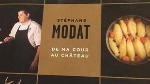 Le premier livre de recettes solo du chef Stéphane Modat.