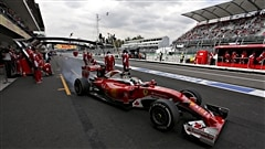 Vettel devance les Mercedes au Mexique