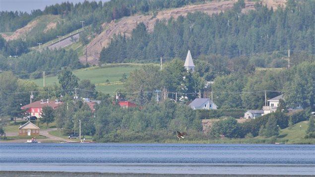 Le village de Lac-des-Aigles.
