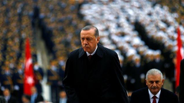 Le président turc accuse l'Allemagne d'
