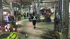 Le méga chantier de l'usine Kruger à Trois-Rivières va bon train