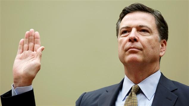 Le directeur du FBI, James Comey