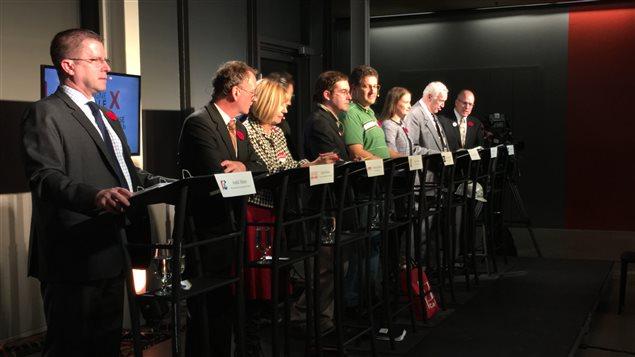 Débat francophone des candidats à La Nouvelle scène d'Ottawa