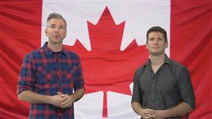 Rej et Samuel souhaitent la bienvenue aux nouveaux venus américains.