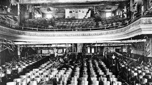 En 1927, 78 enfants périssent dans une salle de cinéma montréalaise