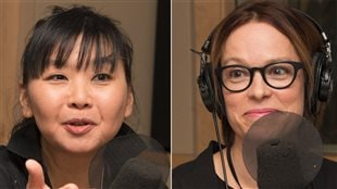 Ryoa Chung et Martine Delvaux