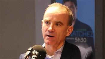 André Gaumond, lauréat Le Soleil / Radio-Canada