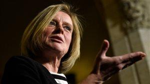 Rachel Notley veut convaincre des avantages du pipeline Trans Mountain