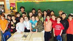 Bilan de l'année 2016 par des enfants de 5e année