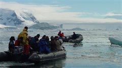 Expédition scientifique féministe en Antarctique