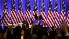 Les frasques de Donald Trump, président désigné des États-Unis