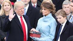 Investiture de Donald Trump : un discours qui s'écarte des traditions