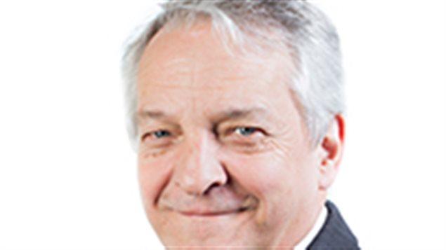 Marc-André Ouellette, vice-président et conseiller du CSF pour la région du sud de l'île de Vancouver