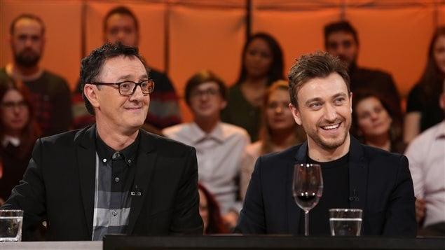 René-Richard Cyr et Benoit McGinnis