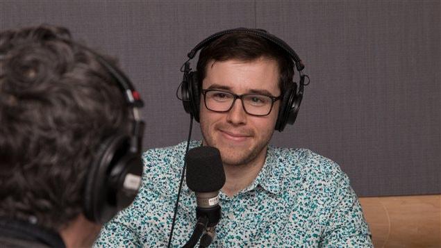 Le journaliste indépendant Marc-André Sabourin