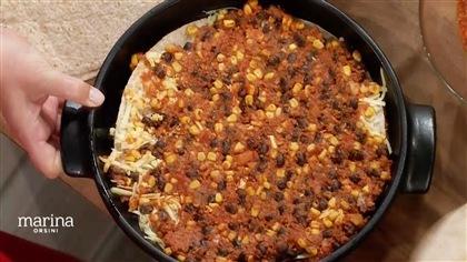 Lasagne éclair style mexicain